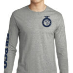 SRPCO Gray Long Sleeve Silhouette Shirt