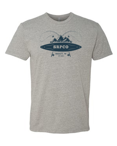 Men's Grey Crew Neck SRPCO T-Shirt
