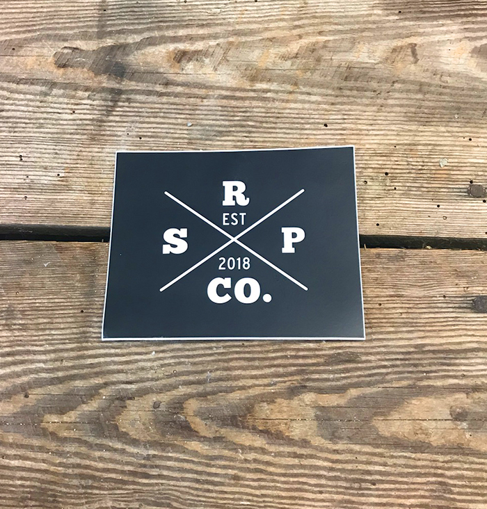 SRPCO Flat Sticker
